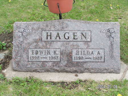 HAGEN, HILDA A. - Worth County, Iowa | HILDA A. HAGEN