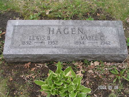 HAGEN, LEWIS B. - Worth County, Iowa | LEWIS B. HAGEN