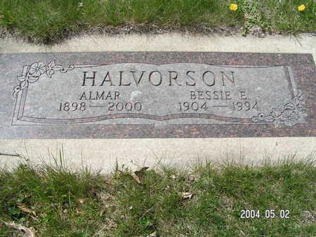 HALVORSON, BESSIE E. - Worth County, Iowa | BESSIE E. HALVORSON