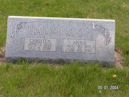 HALVORSON, CHRISTEN - Worth County, Iowa | CHRISTEN HALVORSON