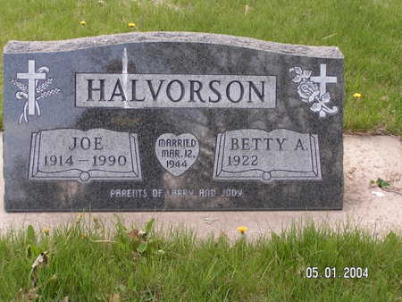 HALVORSON, JOE - Worth County, Iowa | JOE HALVORSON