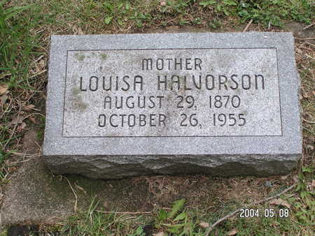 HALVORSON, LOUISA - Worth County, Iowa | LOUISA HALVORSON