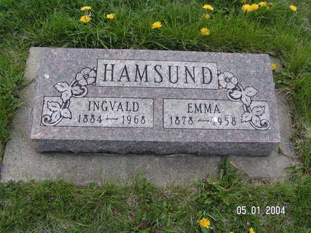 HAMSUND, EMMA - Worth County, Iowa | EMMA HAMSUND