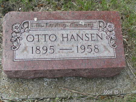 HANSEN, OTTO - Worth County, Iowa | OTTO HANSEN