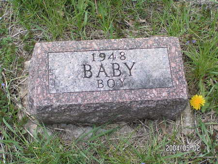 HANSON, BABY BOY - Worth County, Iowa | BABY BOY HANSON