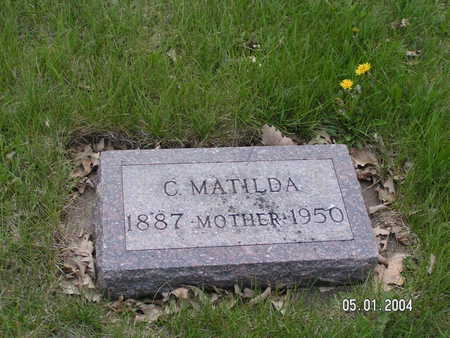 HANSON, C. MATILDA - Worth County, Iowa | C. MATILDA HANSON
