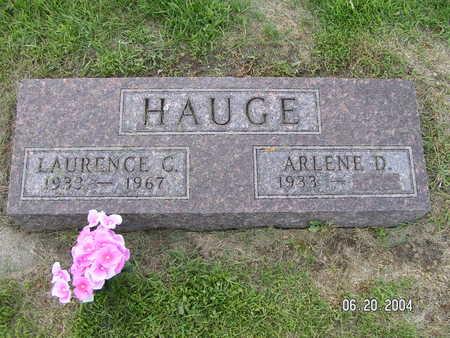 HAUGE, LAURENCE G. - Worth County, Iowa | LAURENCE G. HAUGE