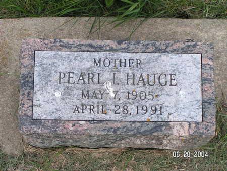 HAUGE, PEARL I. - Worth County, Iowa | PEARL I. HAUGE