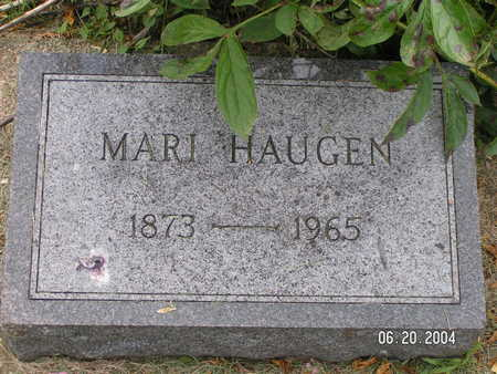 HAUGEN, MARI - Worth County, Iowa | MARI HAUGEN