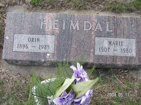 HEIMDAL, MARIE - Worth County, Iowa | MARIE HEIMDAL