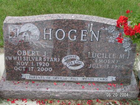 HOGEN, OBERT J. - Worth County, Iowa | OBERT J. HOGEN