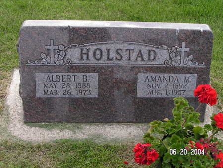 HOLSTAD, AMANDA M. - Worth County, Iowa | AMANDA M. HOLSTAD