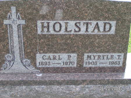HOLSTAD, MYRTLE T. - Worth County, Iowa | MYRTLE T. HOLSTAD