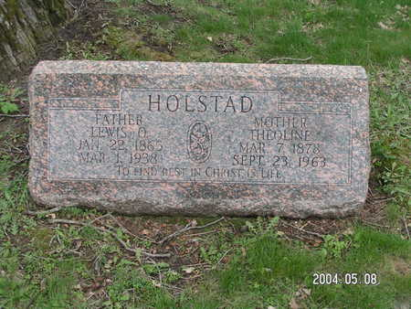 HOLSTAD, THEOLINE - Worth County, Iowa | THEOLINE HOLSTAD