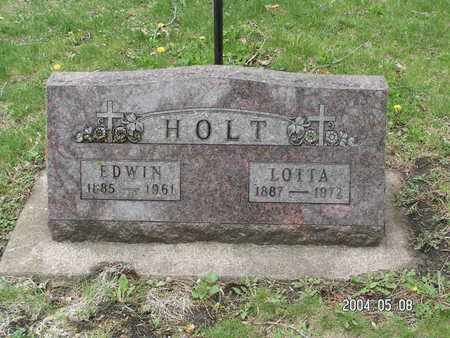 HOLT, EDWIN - Worth County, Iowa | EDWIN HOLT