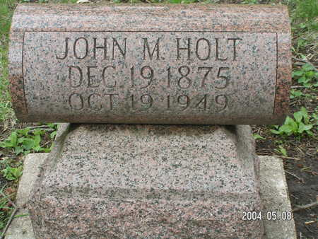HOLT, JOHN M. - Worth County, Iowa | JOHN M. HOLT
