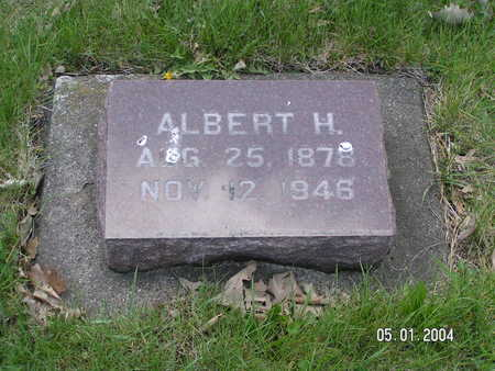 INGEBRETSON, ALBERT H. - Worth County, Iowa | ALBERT H. INGEBRETSON