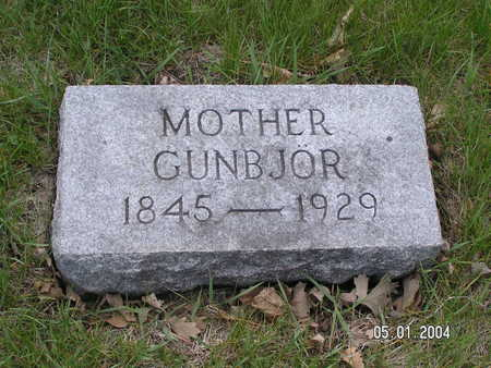 JOHNSON, GUNBJOR - Worth County, Iowa | GUNBJOR JOHNSON