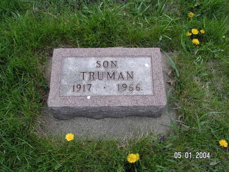 JOHNSON, TRUMAN - Worth County, Iowa | TRUMAN JOHNSON