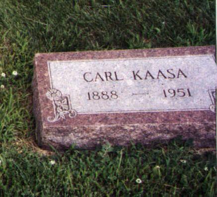 KAASA, CARL - Worth County, Iowa | CARL KAASA