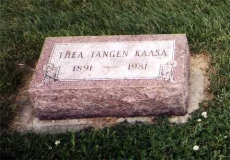 TANGEN KAASA, THEA - Worth County, Iowa | THEA TANGEN KAASA
