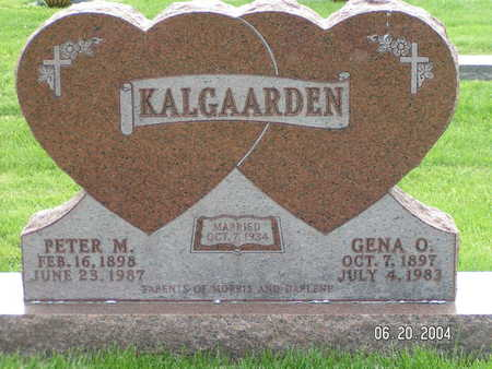 KALGAARDEN, PETER M. - Worth County, Iowa | PETER M. KALGAARDEN