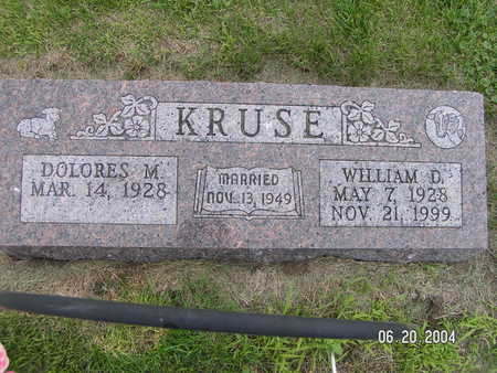 KRUSE, WILLIAM D. - Worth County, Iowa | WILLIAM D. KRUSE