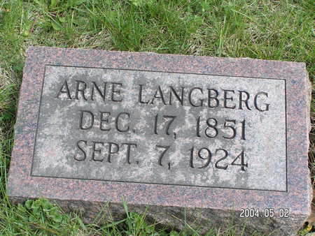 LANGBERG, ARNE - Worth County, Iowa | ARNE LANGBERG