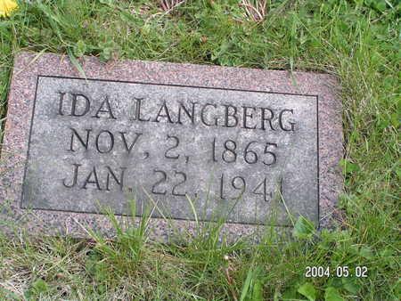 LANGBERG, IDA - Worth County, Iowa | IDA LANGBERG