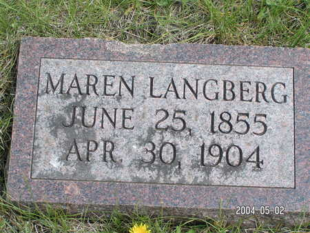 LANGBERG, MAREN - Worth County, Iowa | MAREN LANGBERG