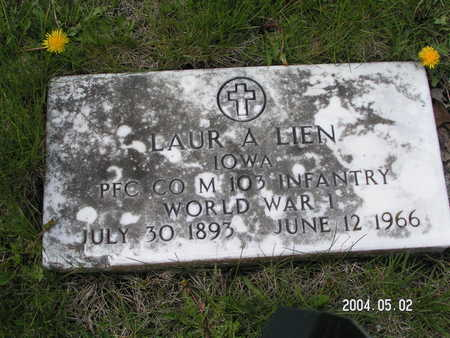 LIEN, LAUR A. - Worth County, Iowa | LAUR A. LIEN