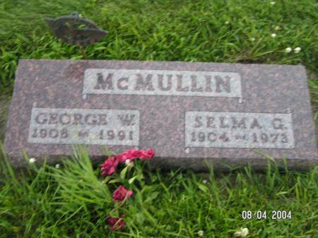 MCMULLIN, SELMA G. - Worth County, Iowa | SELMA G. MCMULLIN