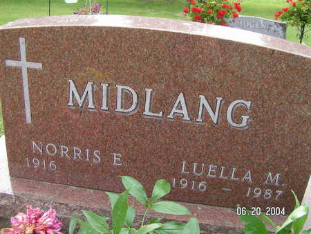 MIDLANG, LUELLA M. - Worth County, Iowa | LUELLA M. MIDLANG