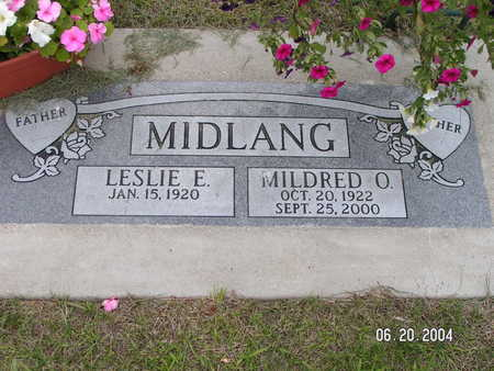 MIDLANG, MILDRED O. - Worth County, Iowa | MILDRED O. MIDLANG