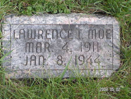 MOE, LAWRENCE T. - Worth County, Iowa | LAWRENCE T. MOE