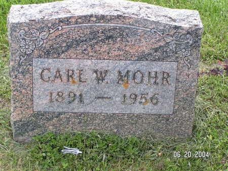 MOHR, CARL W. - Worth County, Iowa | CARL W. MOHR