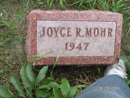 MOHR, JOYCE R. - Worth County, Iowa | JOYCE R. MOHR