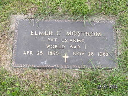 MOSTROM, ELMER C. - Worth County, Iowa | ELMER C. MOSTROM