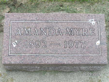 MYRE, AMANDA - Worth County, Iowa | AMANDA MYRE