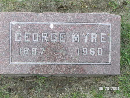 MYRE, GEORGE - Worth County, Iowa | GEORGE MYRE