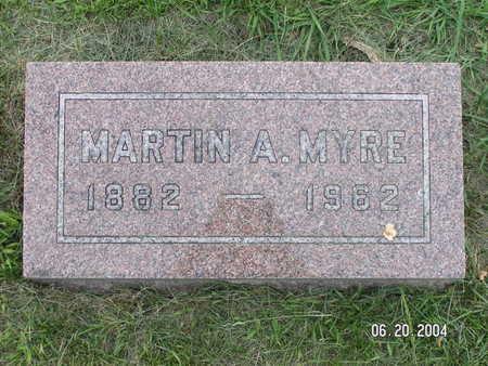 MYRE, MARTIN A. - Worth County, Iowa | MARTIN A. MYRE