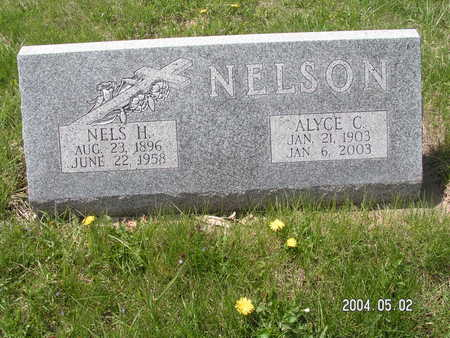 NELSON, ALYCE C. - Worth County, Iowa | ALYCE C. NELSON