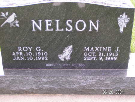 NELSON, MAXINE J. - Worth County, Iowa | MAXINE J. NELSON