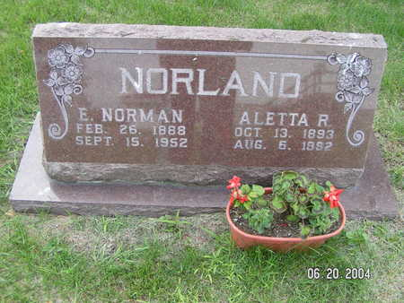 NORLAND, ALETTA R. - Worth County, Iowa | ALETTA R. NORLAND