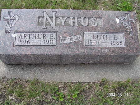 NYHUS, ARTHUR E. - Worth County, Iowa | ARTHUR E. NYHUS
