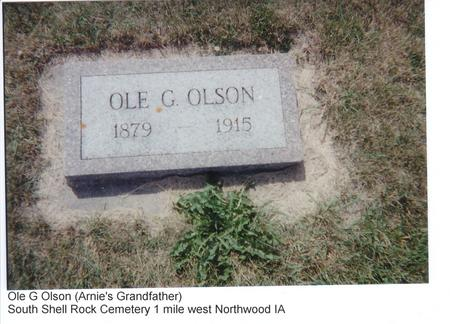 OLSON, OLE G. - Worth County, Iowa | OLE G. OLSON