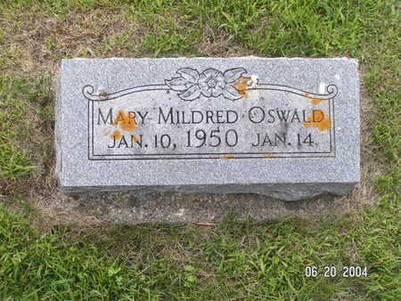 OSWALD, MARY MILDRED - Worth County, Iowa | MARY MILDRED OSWALD