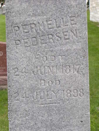 PEDERSEN, PERNELLE - Worth County, Iowa | PERNELLE PEDERSEN