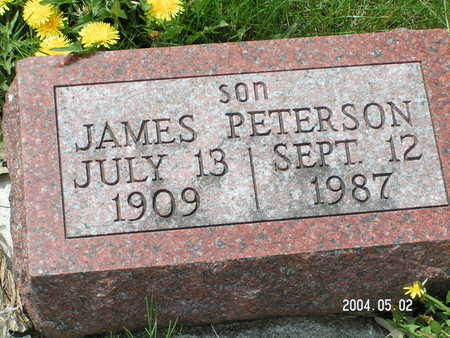 PETERSON, JAMES - Worth County, Iowa   JAMES PETERSON