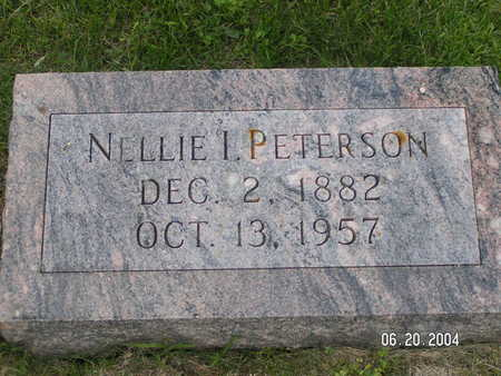 PETERSON, NELLIE I. - Worth County, Iowa | NELLIE I. PETERSON